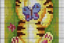 Cross stitch Animals