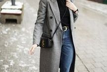 French Chic Grey Coat