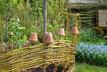 vrbové ploty, paravany, altánky