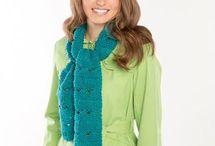 Kniting scarf / Κασκόλ Πλεκτά με βελονες