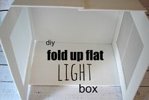 light box - tent