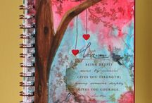 Art Journal Album Sketchbook Page Design
