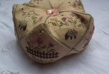 Pin Cushions - Biscornu / by Carrie Dowden