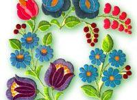 Hungarian Flowers