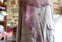 Crochet Baktus Scarves