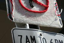 Yarn bomb! / by Colie's Crochet