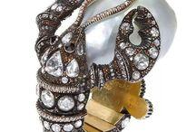 pearl barocco rings