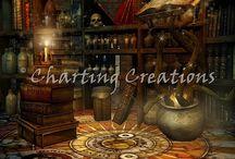 Fantasy / Fantasy themed cross stitch charts