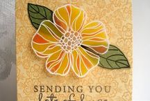 Card Ideas - Large Blooms / by Cecelia