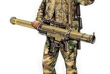 US soldiers / uniformes des soldats des forces armées des Etats-Unis