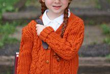 Knitted-jacket, jumper....