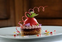 Our pastries / Our Chef Pâtissier Cedric Perret creats all year long  tasty and wonderful pastries full of colours!