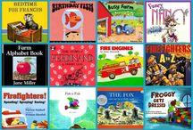 preschool books / by Kelly Stewart