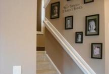 Hal inrichting / Ideeen voor de trap te renoveren.