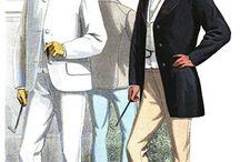 Men`s fashion 1860`s