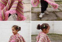 Crochet Poncho Kids