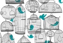 Birds, Owls, Trees