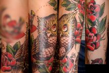 Owl tattoos / #Owl #Tattoo #Tattoos #Tattooed #Skinart #Tat #Tattooart #Art #Design #Tattoodesign #Tatooisme #Tattooism #Ink #Inked