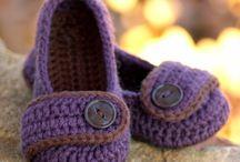 Crochet Toddler shoes