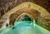 piscina climatizada en casa