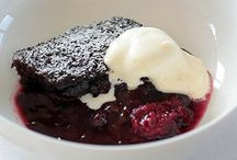 black doris self saucing pudding