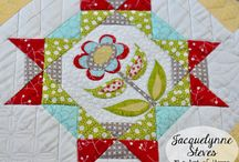 Maggie's First Dance Block of the Month / Our place to share our progress on the Maggie's First Dance Block of the Month! This BOM has options for just piecing, applique & embroidery (patterns provided.) This is a FREE Block of the Month designed & hosted by Jacquelynne Steves. If you are making this quilt and would like an invitation to pin your photos here, please email me comments@jacquelynnesteves.com