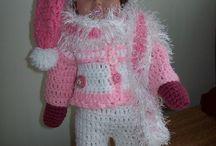 Snow dollclothes
