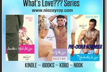 What's Love??? series by Niecey Roy / A series about discovering love, about laughter, family, and friends.