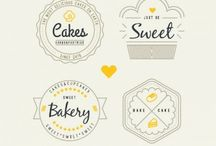 Bakery logo things