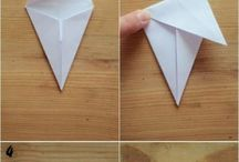 papír dísz