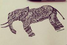 Drawings - P&B