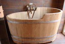 baden / houten baden