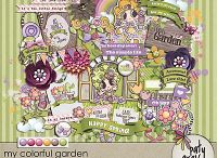 My Colourful Garden / More exquisite doodles from Paty!