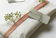 Idées emballages cadeaux / Des idées pour emballer les cadeaux de Noël! #DIY Gift wraps cool ideas
