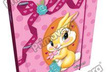 Pasta Argolla Miss Bunny / Línea Escolar Primavera Regresa a Clases con TODO