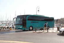 Crete Buses / Our limo buses servicing routes all over the island of Crete and beyond