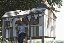 tree-less houses / tree house ideas sans tree / by Goldie Johnson Pontrelli