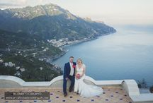 Ravello Italy Wedding Amalfi Coast / Civil wedding in Ravello outdoor garden and reception in private villa wedding planner Mario Capuano Professional wedding Photographer . A wedding dream on the Amalfi Coast Italy