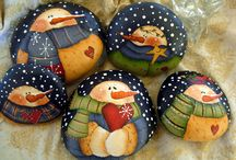 painted rocks / by Tina Whynott