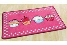 Cupcake themed kitchen