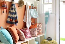 Mudroom | Entryway / mudroom and entryway organization | storage | inspiration