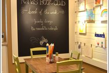 Playroom and Mudroom / Organization ideas for the playroom and Mudroom.