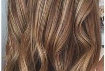 Hair / Cut, treatments, ideas for new looks, highlights.