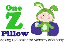 The One Z Baby Feeding and Support Pillow / The One Z Pillow is a pillow designed specifically to make mom and baby comfortable while nursing or bottle feeding! It has a full integrated back support!