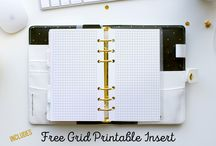 Planner Personal Size / Personal Size planner Insert Printables