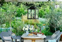 Gardens / Outdoor spaces to grow, relax, entertain and live.