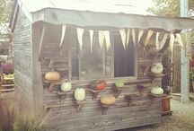 Rosie and the Boys love: Allotment / 2 minutes walk up the lane and we arrive at our little plot.  A great place to de-stress, learn new things and enjoy life.  Here's a collection of inspiring plots, projects and useful ideas for you to enjoy.