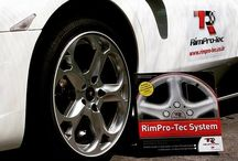 RimPro-Tec have the Answer to Kerb Rash / No need to drive around with scratched wheels anymore. RimPro-Tec have the answer, just pop out the inner and turn it around... Patented and trade marked in over 100 countries.
