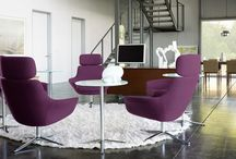 Lounge Seating / Comfortable beauty.  Timeless design.