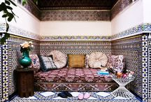 Morrocan style - outdoors / decor